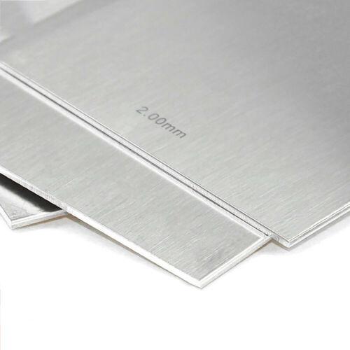0,02 mm bis 1 mm Stärke 304 Edelstahl Bleche Platte Sheets Panel 200x300 mm DIY