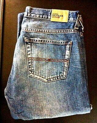 Mens Vintage Tommy Hilfiger Bronx Blue Denim Jeans W28 L32