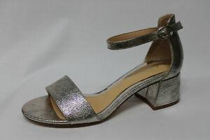 Sandalo Cafè Noir Pelle Argento