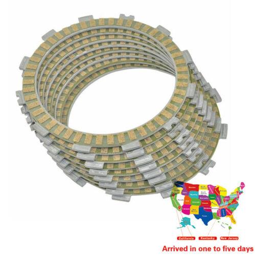 For HONDA CR250R CR500R CRF450R .KAWASAKI KX450F Clutch Friction Plate Kit Set