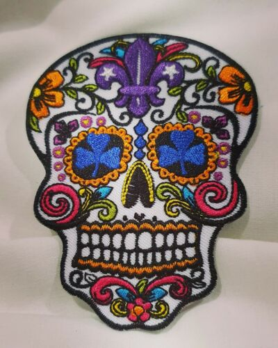 Mexican Sugar Skull Badge 24th World Scout Jamboree 2019