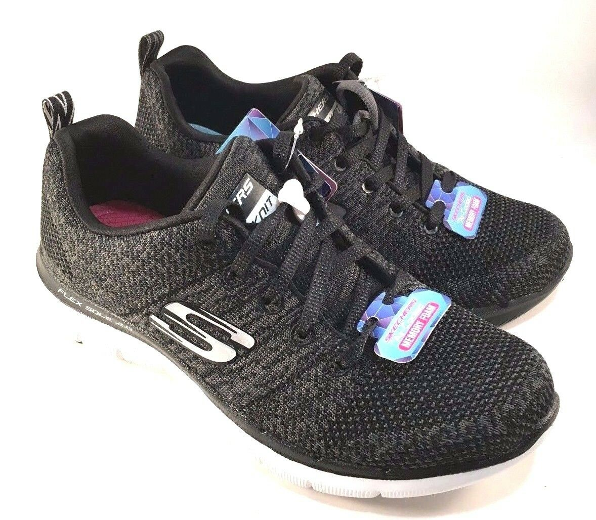 Skechers 12756 Air-Cooled Memory Foam Dual-Lite Lace Lace Lace Up Sneakers Choose Sz color 61befd