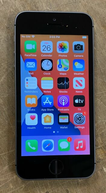 Apple iPhone SE Space Gray 128GB (MP7X2LL/A)