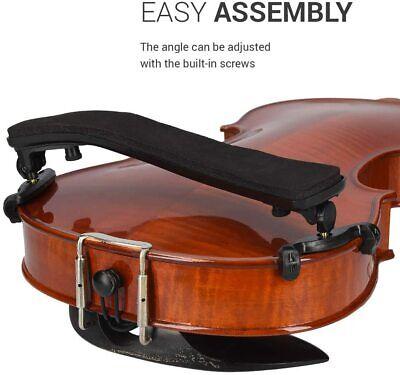 as described 1 2x Rubber Feet Violin Shoulder Rest Musical Instruments Accessories Parts