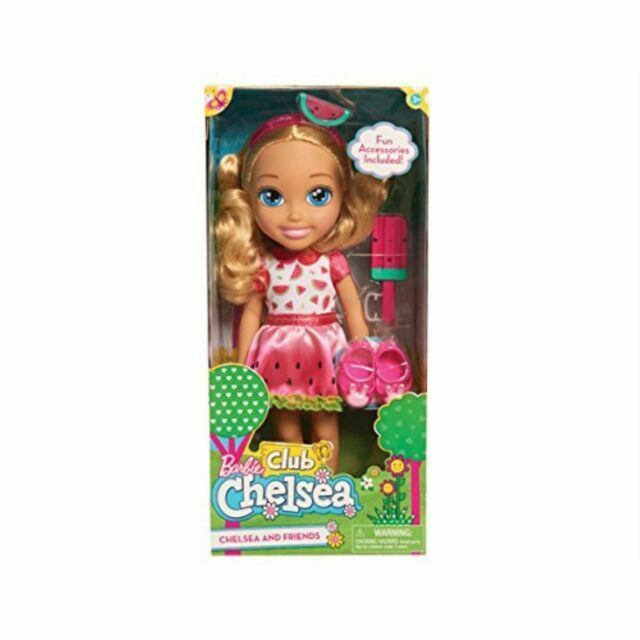 Chelsea and Friends BARBIE CLUB CHELSEA 14 inch Doll
