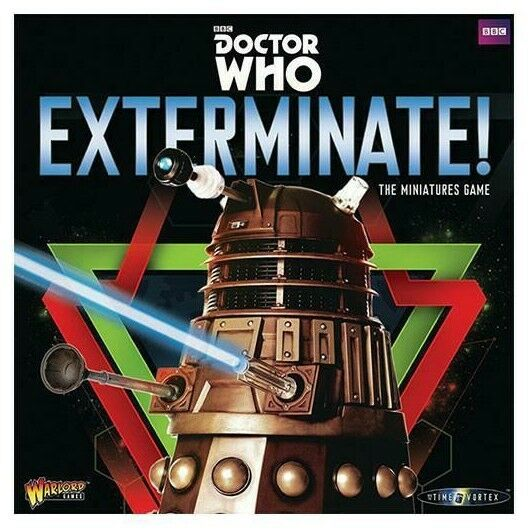WARLORD Game Dr Who exterminer  Les Miniatures Game Starter Box Set