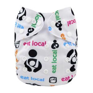 ALVA-Cloth-Diaper-One-Size-Pocket-Reusable-Adjustable-Nappy-1-Insert-For-Boys