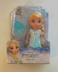 Disney-Frozen-Elsa-Petite-6-Inches-w-Comb-Princess-Doll-New