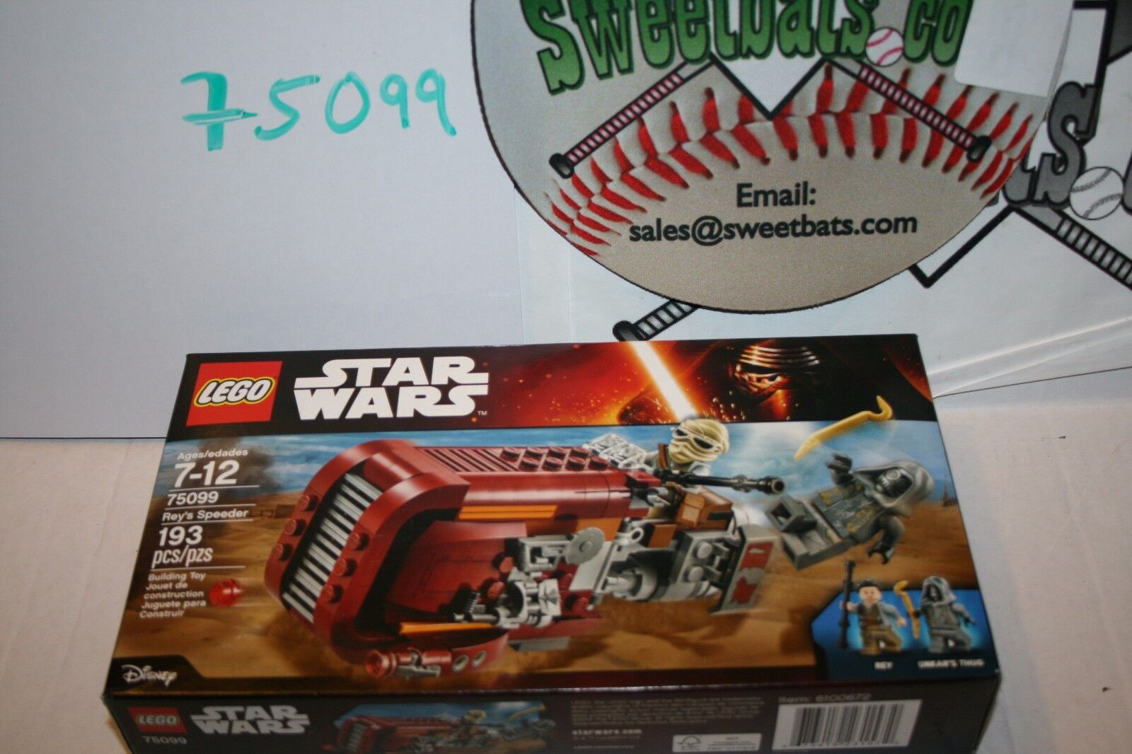 75099 Lego Star Wars Rey Rey's Speeder New Sealed NIB 193 pcs Force Awakens