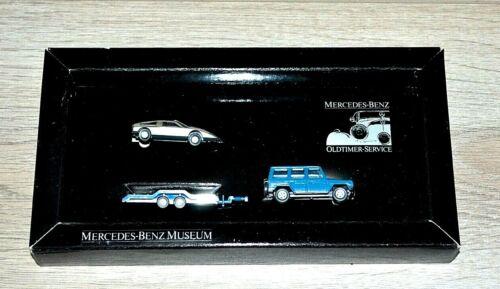 37a Wiking mercedes-set Oldtimer Service-werbepackung