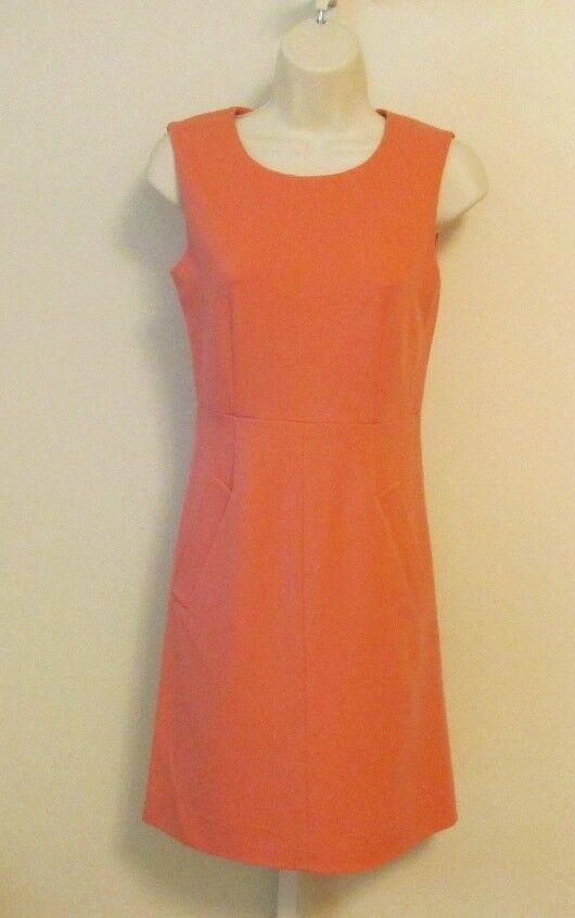 Diane von Furstenberg Carpreena Mini Sorbet Rosa dress shift DVF 10 knit zipper