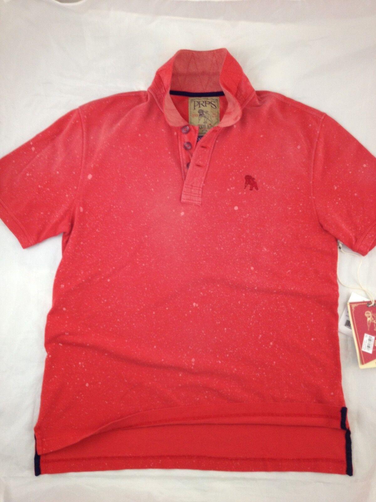 PRPS GOODS & CO. The Red Jersey Pique  ( Medium)   125