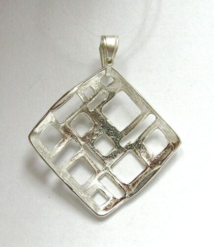 Sterling Silver Pendant Flower Perfect Quality 925 New Stylish Handmade Empress