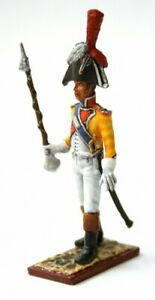 Painted-Tin-Toy-Soldier-Tambour-Major-of-the-1st-Swiss-Regiment-54mm-1-32