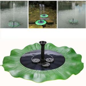 Bomba de agua de la fuente de energ a solar panel piscina estanque de jardin o8 ebay - Bomba piscina solar ...