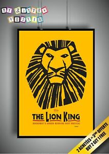 The Lion King Musical Theatre Posters Ebay