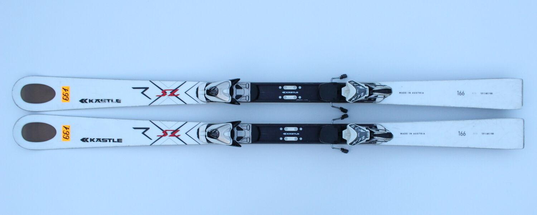 KASTLE RX SL 166 CM SKIS SKI + MARKER K 12 CTI  N661