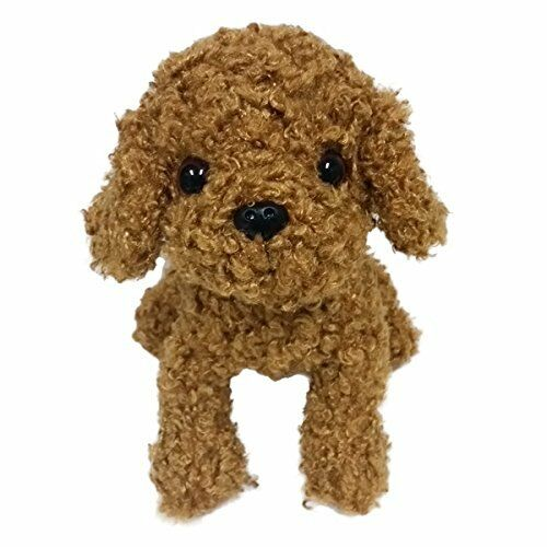 Premium Puppy Toy Poodle Red M Stuffed Animal Plush Gift Baby