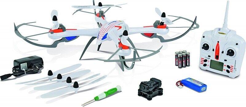 Carson 500507100 - X4 Quadcopter 550 SPY 2.4G 100 % RTF