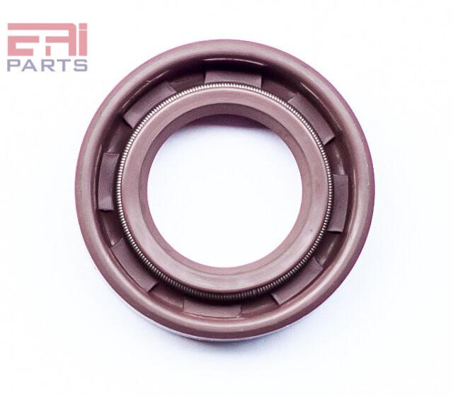 EAI Viton Metric Oil Shaft Seal 18x30x6mm Dust Grease TC Double Lip w// Spring