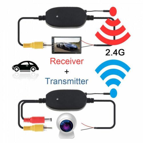Wireless Rear View Video Transmisor /& Receptor Para Coche Camión Cámara De Marcha Atrás