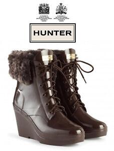 Hunter Womens Original Earlham Boot - Bitter Chocolate