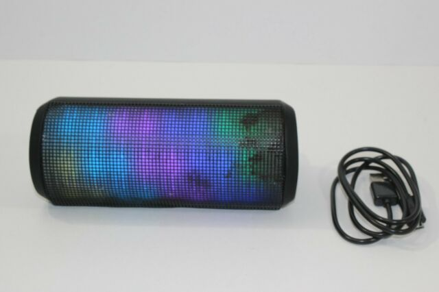 Blackweb BWA17AA002 Portable Wireless Bluetooth Speaker with LED Light