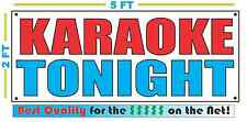 KARAOKE TONIGHT Banner Sign NEW High Quality! for DJ Bar Party Club Disco
