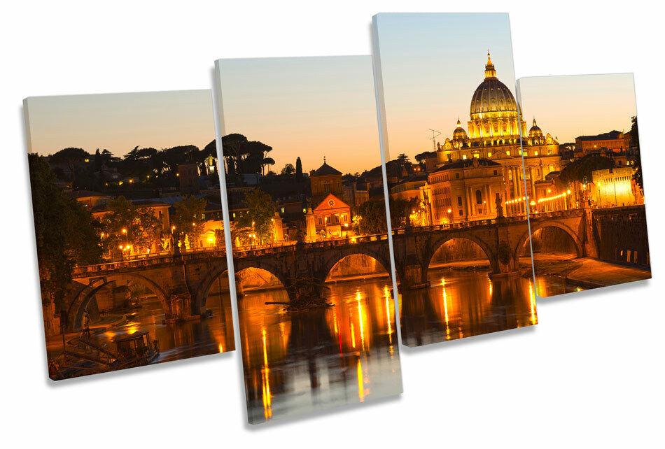 Basilica di San Pietro ROMA ITALIA ART. a Muro Multi Foto Stampa