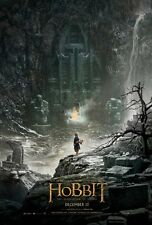 THE HOBBIT THE DESOLATION OF SMAUG DOUBLE SIDED ORIGINAL MOVIE film POSTER Bilbo