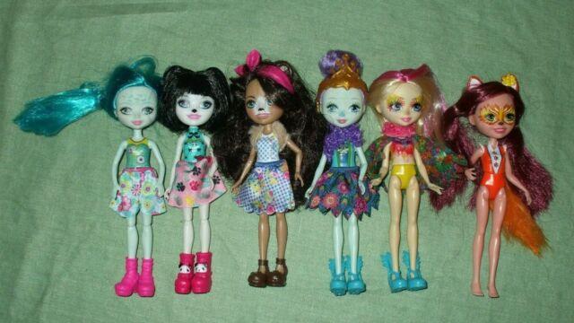Enchantimals doll lot