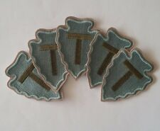 Lot 5 Patches US 36th Infantry div Provence - Vosges - Alsace - Italie WW2 REPRO