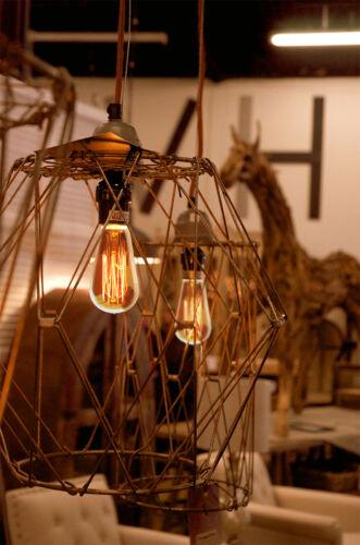 B22 Bayonet Filament Vintage Edison Style Squirrel Cage Lamp Light Bulbs