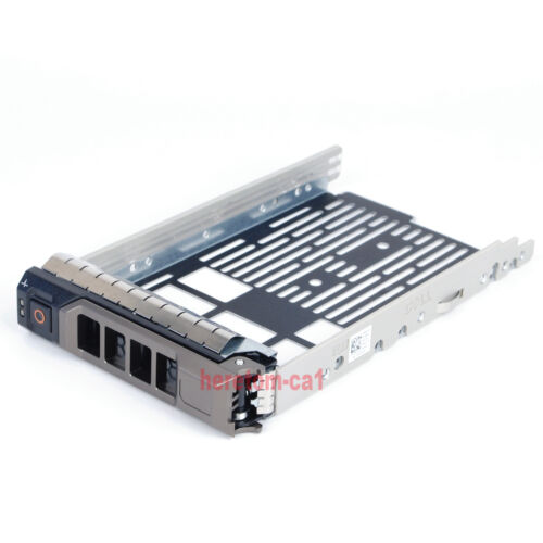 "3.5/"" HDD SAS SATA Hard Drive Tray Caddy For Dell PowerEdge T330 R530 R630 R430"