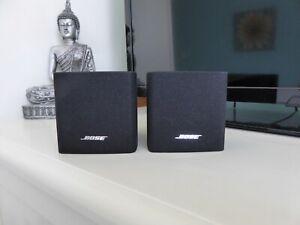 2 x BOSE Acoustimas  black single satellite/surround sound speakers