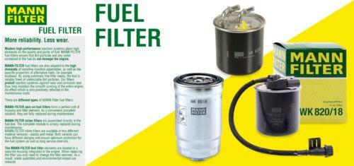 NEW Fuel Filter For Mercedes W201 W123 W124 400E Mann WK845