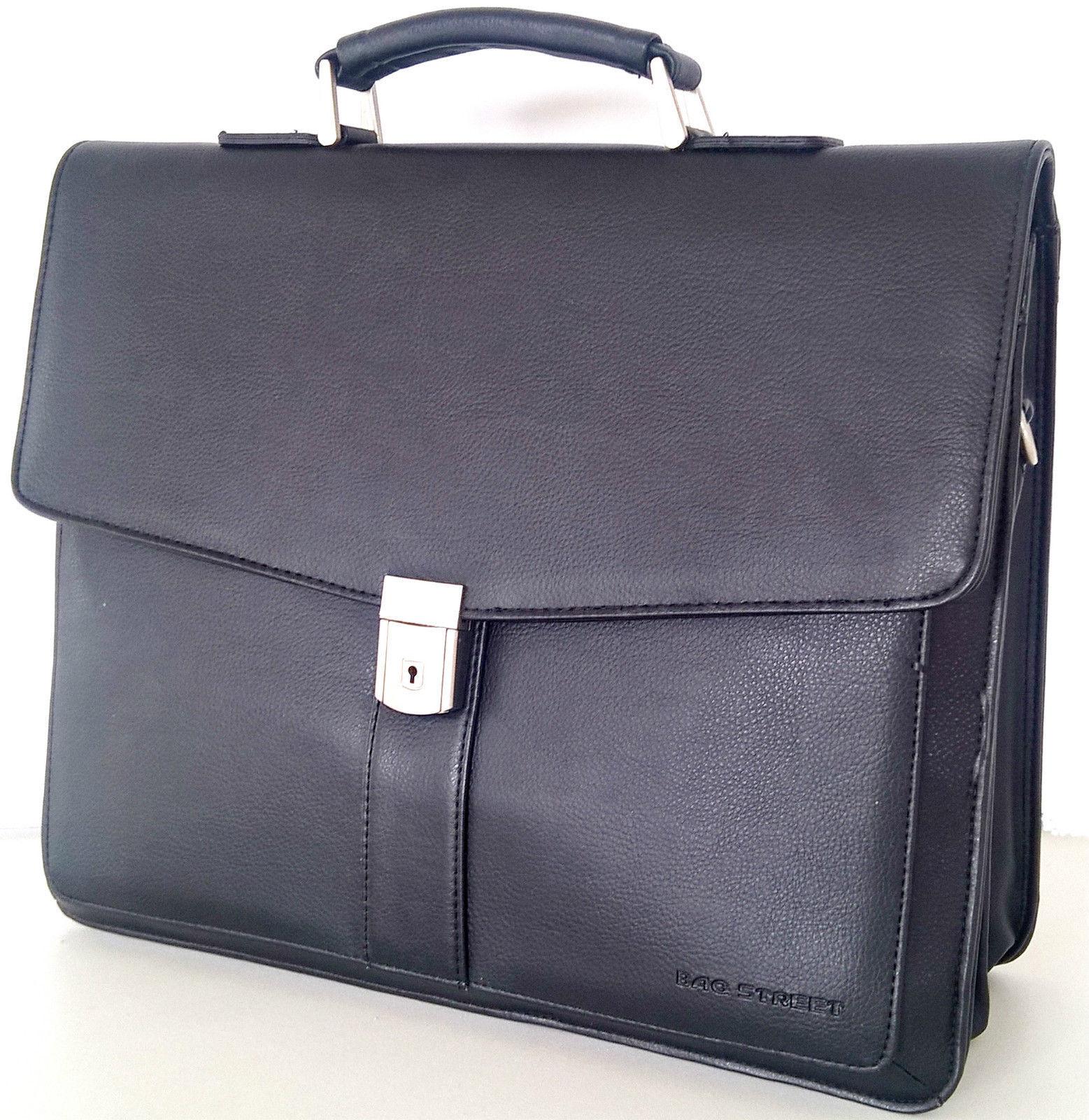 Aktentasche,Bürotasche,Business-Schultertasche,Laptopfach,mit Lederriemen,Neu | Günstig  | Verpackungsvielfalt  | Üppiges Design