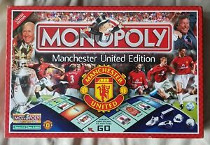 RARE-COMPLETE-Monopoly-Board-Game-Manchester-United-Edition-2003