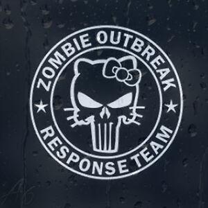 Zombie-Outbreak-Response-Team-Hello-Kitty-Car-Phone-Laptop-Decal-Vinyl-Sticker