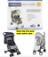 Universal-Transparent-Pushchair-Stroller-Rain-Cover-with-Black-Trim-Heavy-Duty thumbnail 1