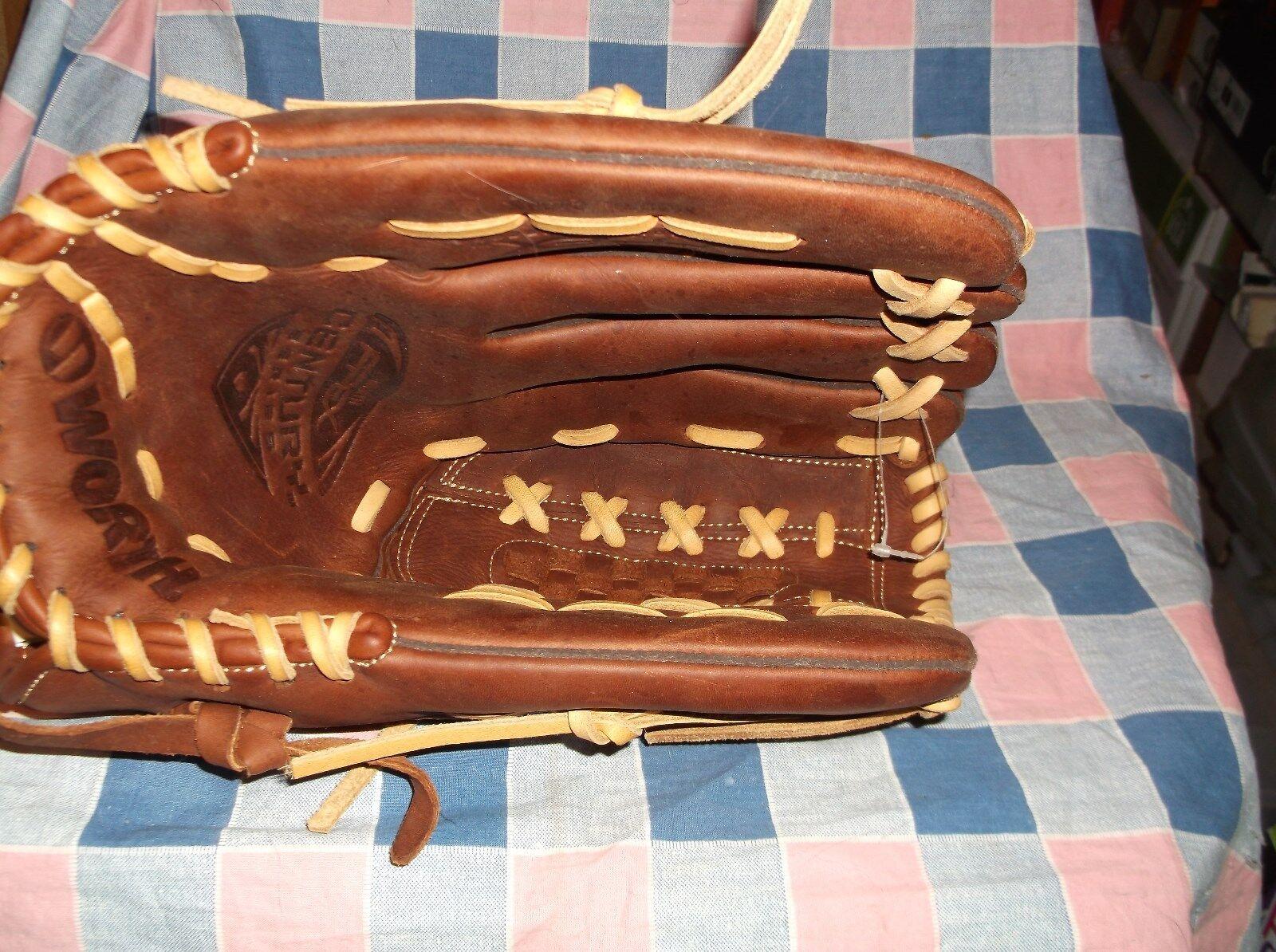 Appears New Worth Apex Century Series Fastpitch Softball Glove C130X 13