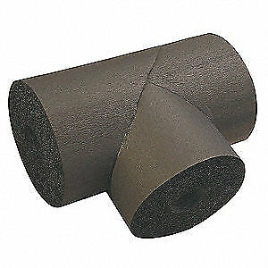 ID K-FLEX USA Pipe Fitting Insulation,Tee,1-3//8 In 801-T-048138