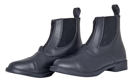 Leder Leder Leder Jodhpur Stiefeletten mit Reissverschluss schwarz Gr.38-41 4224cb