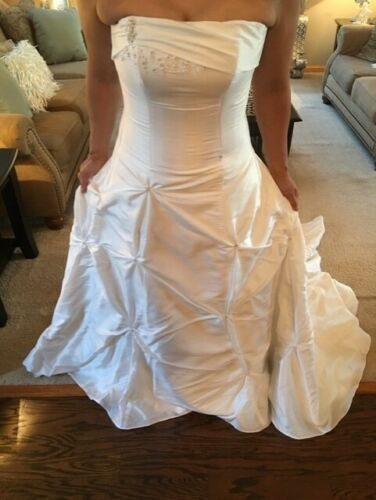 Woman's Maggie Sottero Couture Wedding Dress