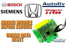 HONDA AIRBAG ECU SRS ECU AIRBAG MODULE CRASH DATA RESET REPAIR SERVICE