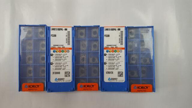 XNKT080508PNSR-MM PC5300 Carbide inserts KORLOY 10 Pcs//Pack