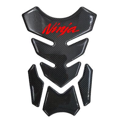 Carbon Fiber Gas Tank Fuel Pad Grip Gel Protector For Kawasaki Ninja ZX6R ZX10R