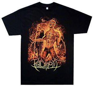 Psycroptic-Burning-Man-Shirt-S-XXL-Official-Tshirt-Death-Metal-Band-T-Shirt