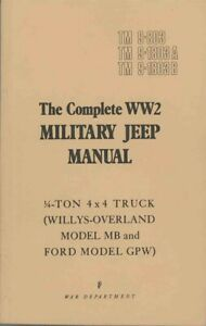 The-Military-Jeep-Complete-All-TM-039-s-for-Jeep-MB-GPW-G503