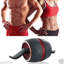 AB Roller Wheel Perfect Fitness Carver Pro Abdominal Exercise + Free Kneepad